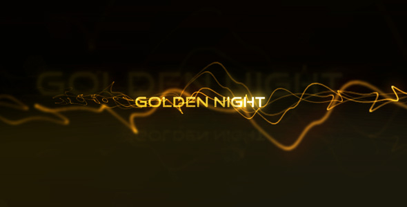 After effects project files golden night videohive for Golden night