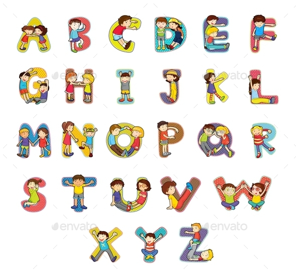 GraphicRiver Alphabet 9148180