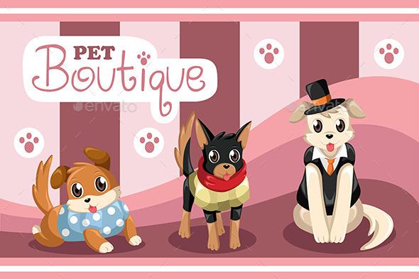 GraphicRiver Pet Boutique 9148827