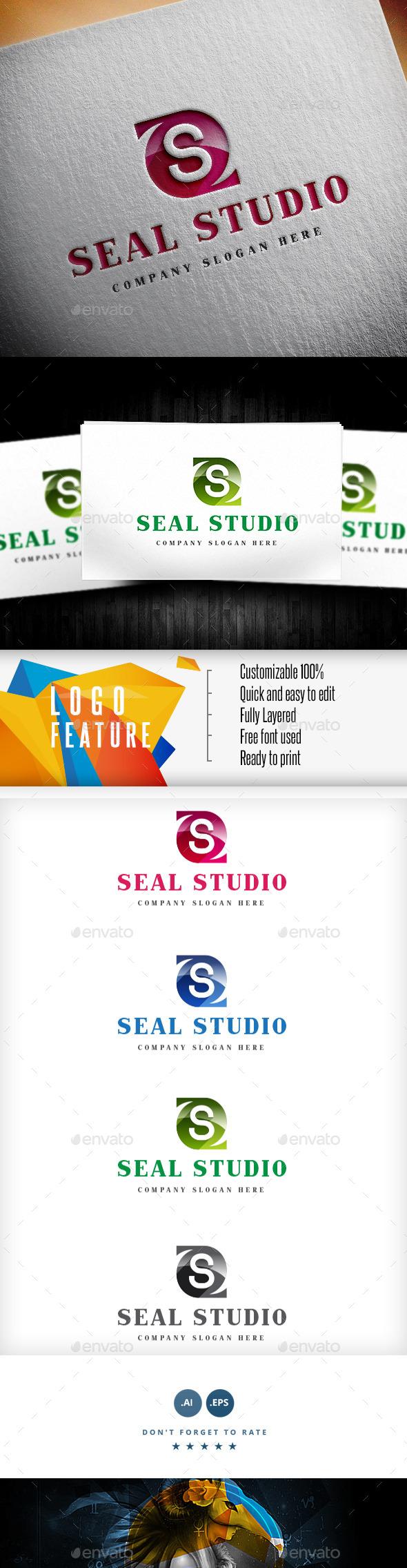 GraphicRiver Letter S Logo 9148960