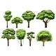 Tree Set - GraphicRiver Item for Sale