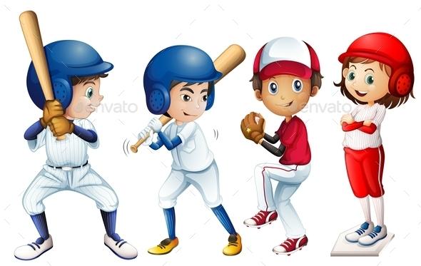 GraphicRiver Baseball Team 9149501