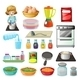 Food and Kitchenware - GraphicRiver Item for Sale