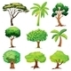 Various Trees - GraphicRiver Item for Sale