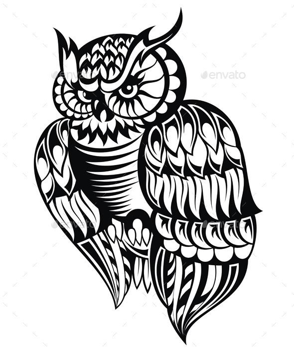 GraphicRiver Owl 9149855
