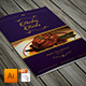Elegant Restaurant Menu Bifold - GraphicRiver Item for Sale