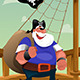 Pirate Standing on the Deck - GraphicRiver Item for Sale