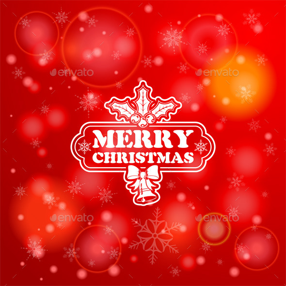 GraphicRiver Christmas Background 9150485