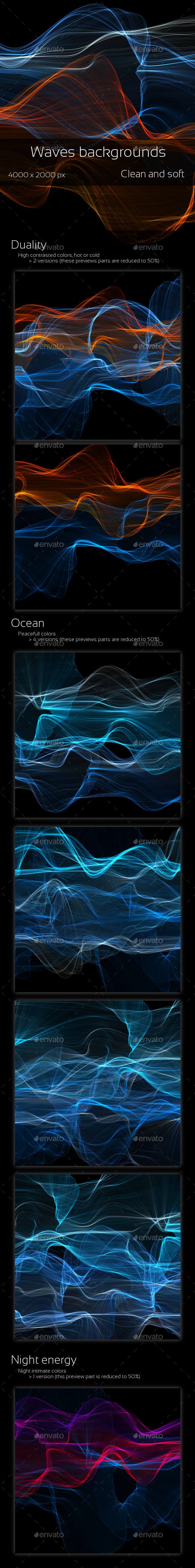 GraphicRiver Duality Waves pack 1 9100045