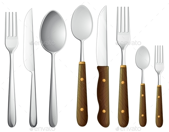 GraphicRiver Spoon Set 9150497