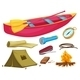 Various Camping Objects