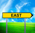 Conceptual arrow sign against beautiful landscape with text - EA - PhotoDune Item for Sale