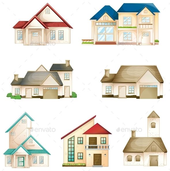 GraphicRiver Various Houses 9151018