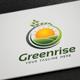 Greenrise logo - GraphicRiver Item for Sale