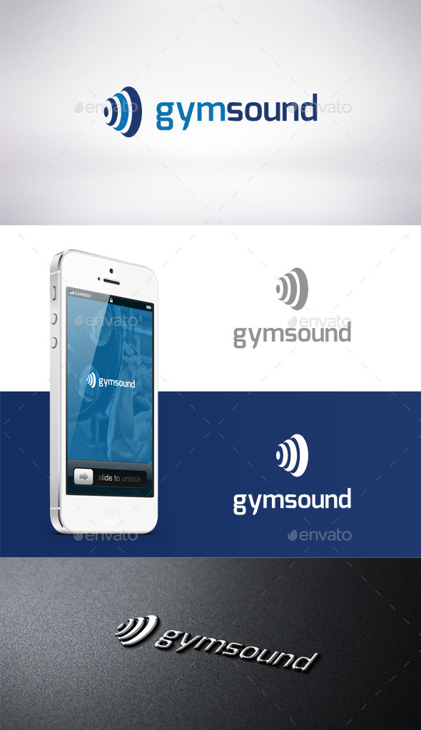 Gym Sound Logo Template