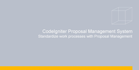 CodeCanyon Proposal Management System 9151202