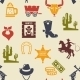 Western and Rodeo Seamless Background Pattern - GraphicRiver Item for Sale