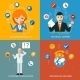 Technical Support and Customer Service Icons - GraphicRiver Item for Sale