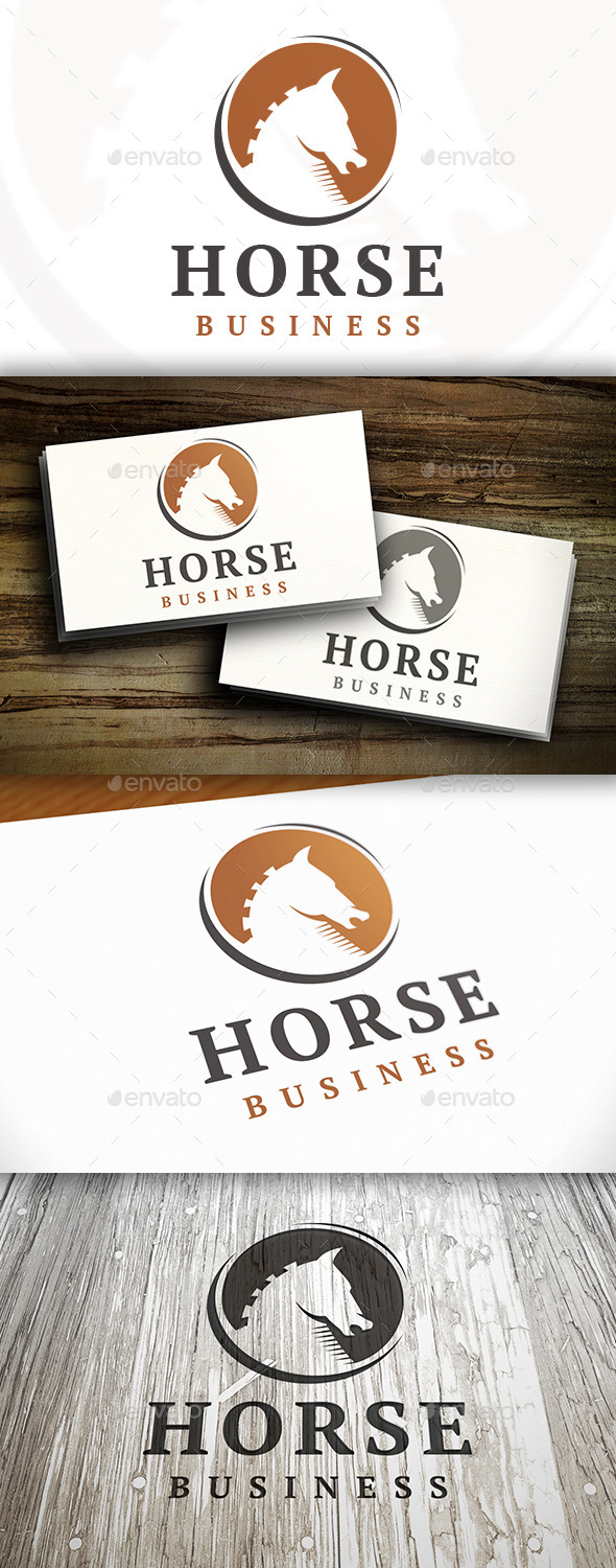 GraphicRiver Horse Logo Template 9152833