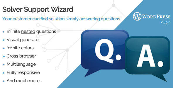 CodeCanyon Solver WordPress Support Wizard 9117694