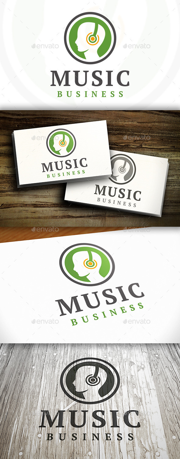 GraphicRiver Music People Logo 9152931