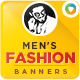 Fashion for Men Banners - GraphicRiver Item for Sale