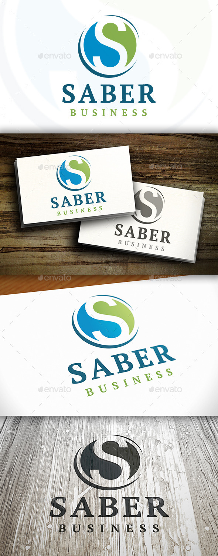 GraphicRiver Saber S Letter Logo 9153052
