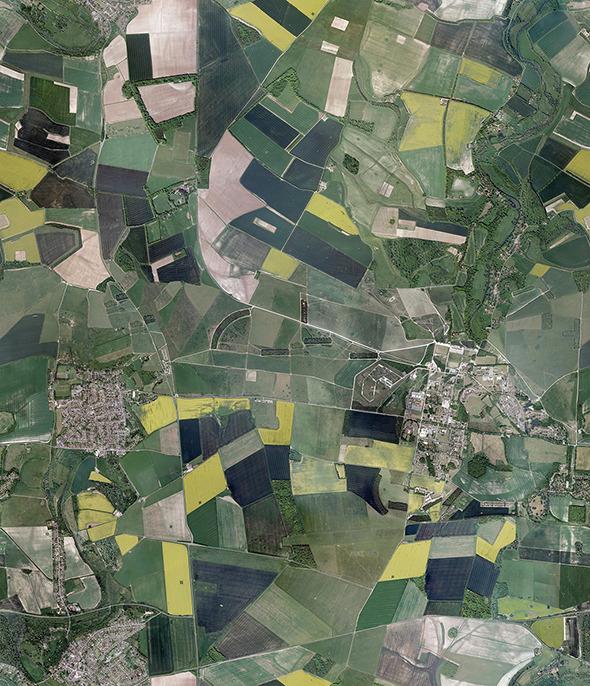 3DOcean Aerial Fields Texture 9154056