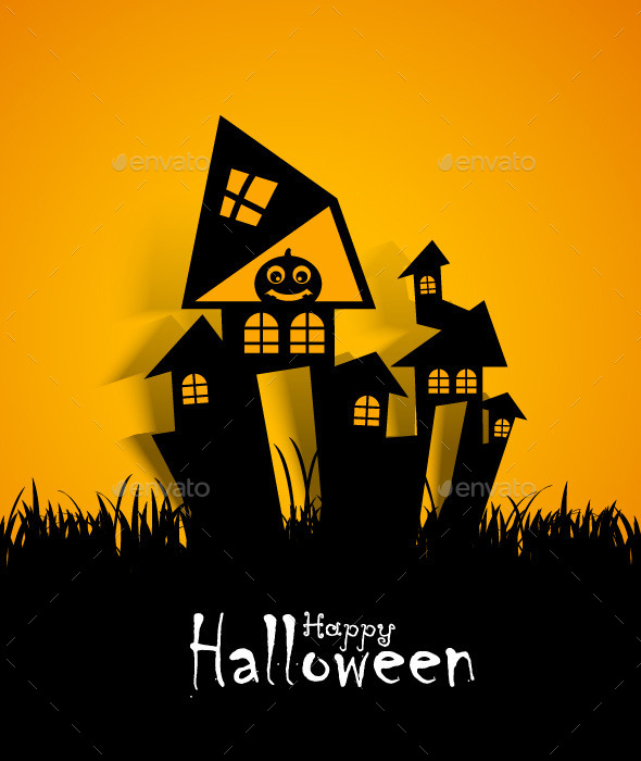 GraphicRiver Halloween Design 9154228
