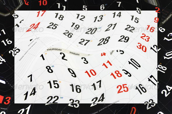 Royalty Free Stock Photography : Calendar Pages Photodune 934987