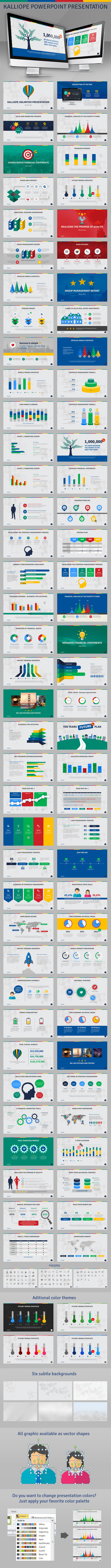 GraphicRiver Kalliope PowerPoint Template 9154573