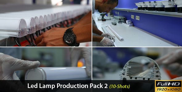 LED Lamp Production Pack 2