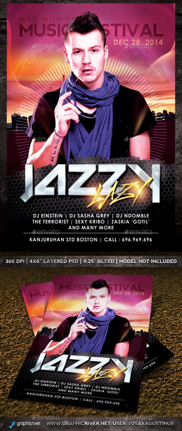 GraphicRiver Jazzy Lazzy 8997832