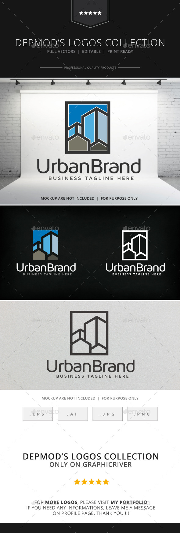 GraphicRiver Urban Brand Logo 9155845