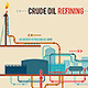 Illustration of a Crude Oil Refining - GraphicRiver Item for Sale