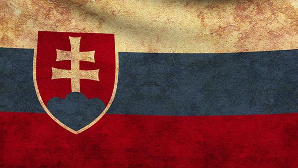 Slovakia Flag Grunge - Motion Graphics | VideoHive 9156556