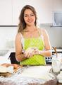 beautiful young woman preparing cakes - PhotoDune Item for Sale
