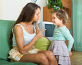 Woman scolding child at home - PhotoDune Item for Sale