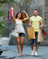 travelers doing shopping - PhotoDune Item for Sale