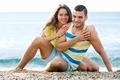 Couple at seaside - PhotoDune Item for Sale