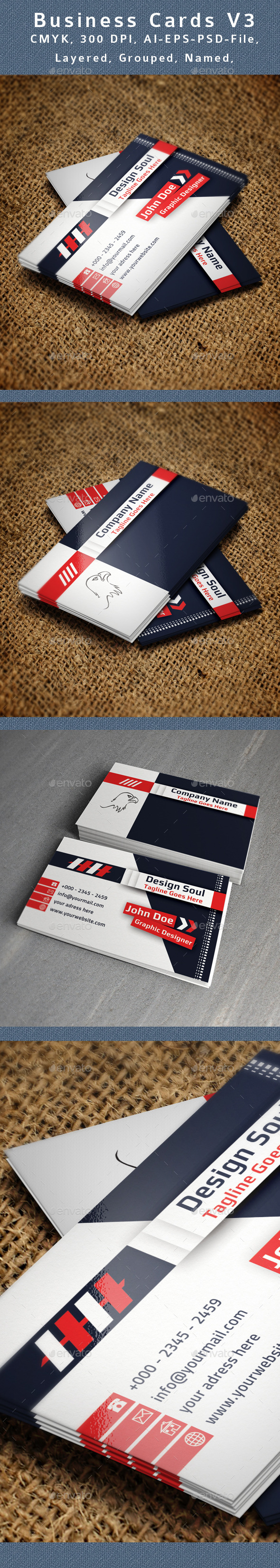 GraphicRiver Creative Business Card V3 9157435