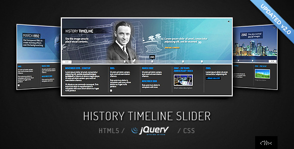 jQuery Timeline Slider - CodeCanyon Item for Sale