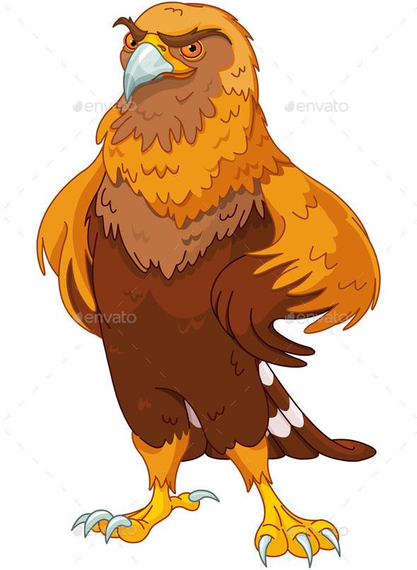 GraphicRiver Golden Eagle 9157568