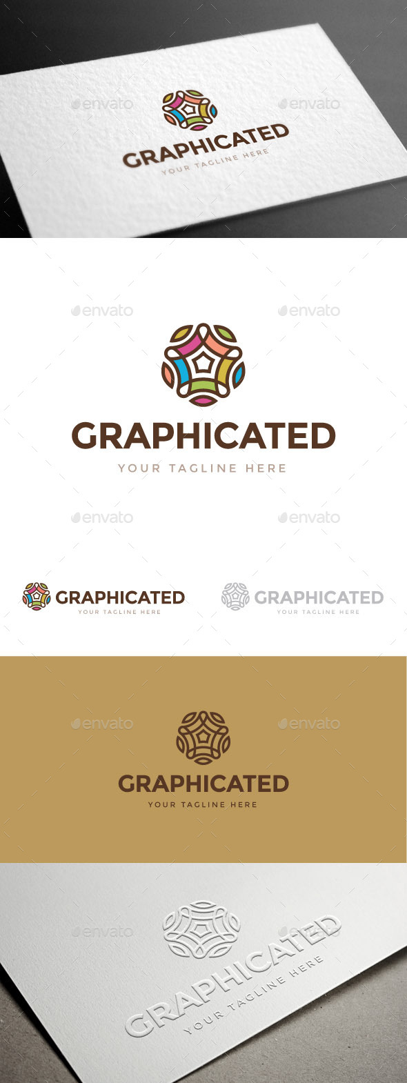 GraphicRiver Graphicated Logo Template 9157589