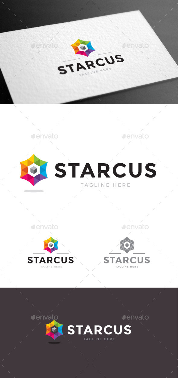 GraphicRiver Starcus Logo Template 9157591