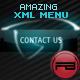 Amazing XML horizontal/vertical menu ( 3D buttons ) - ActiveDen Item for Sale