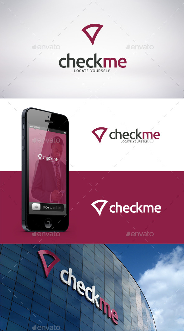GraphicRiver Check Me Logo Template 9157654