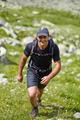 Hiker climbing the mountain - PhotoDune Item for Sale