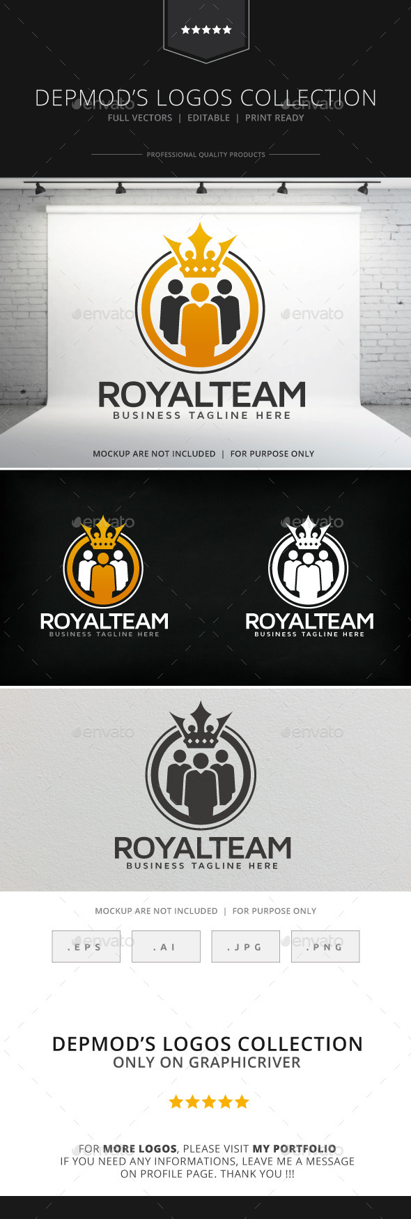 GraphicRiver Royal Team Logo 9158273
