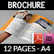 Corporate Brochure Template Vol.39 -12 Pages - GraphicRiver Item for Sale